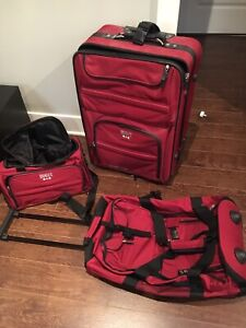 3 piece roots luggage