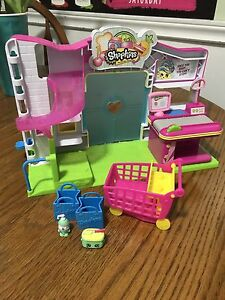 EUC Shopkins Small Mart For Sale!