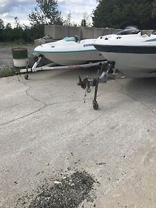 Seadoo boats for parts and trailers