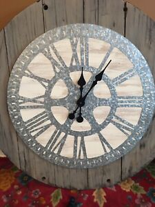 Custom made statement wall clock