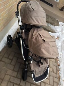 Beautiful double city select stroller