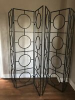 Metal room divider Decor there are 2pcs available $25 each
