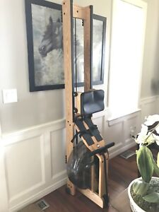 Mint Waterrower Ash with S4 Monitor Rowing Machine