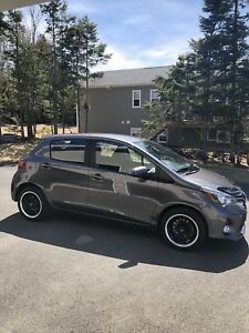 "2015 Toyota Yaris SE with Extras ""Extended Warranty""."