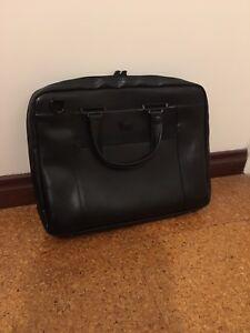 Samsonite Leather Satchel/Laptop Bag