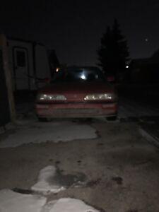 91 Acura Integra 4door