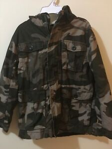 Boys size medium camo fall jacket, Old Navy