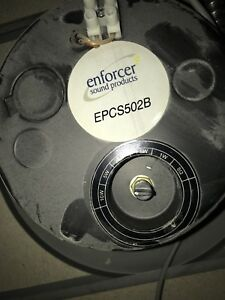 Ceiling speakers.  Enforcer model EPCS502B
