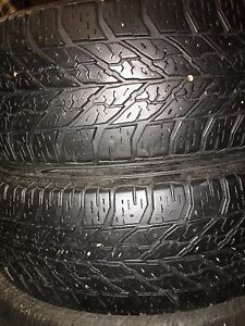 2 Goodyear UltraGrip Winter Tires 195/65R15