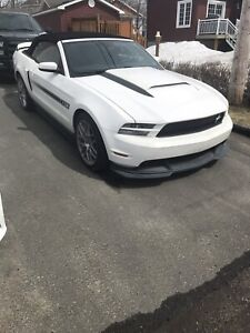 Ford Mustang GT special California 2012 convertible
