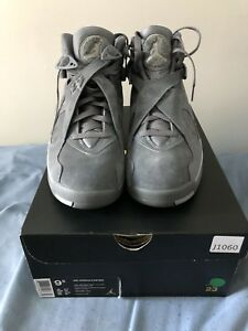 JORDAN 8 COOL GREY BRAND NEW  DS