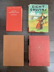 VINTAGE BOOKS  David Copperfield, Louisa M Alcott, Pearl S Buck