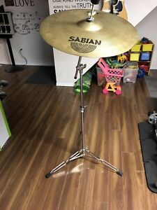 Cymbal with stand