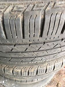 Continental tires 235/55R19
