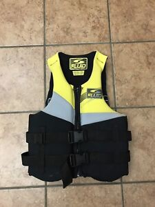 Fluid brand child size Extra Small life jacket