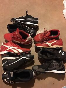 Variety of Baseball cleats
