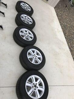"Amarok highline 17"" alloy wheels"
