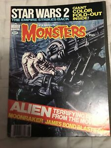 Star Wars monster magazines and comic books