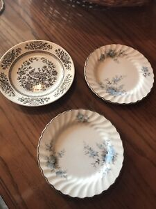 3 China Plates $1 For All