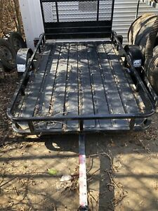 Atv / all purpose trailer with ramps