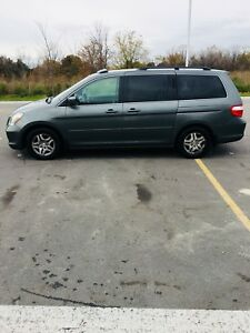 2007 Honda Odyssey EXL, 129 000 KM, Leather, 8 seats, sunroof