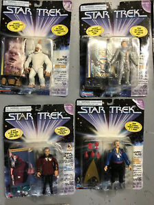 Star Trek Next Generation Toy Lot - 127 in total
