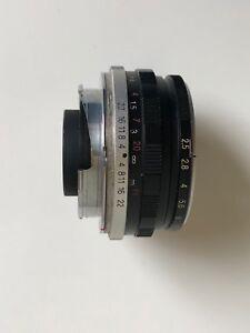 Voigtlander Color Skopar 35mm f/2.5 for Leica