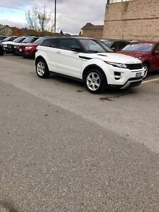 2012 Range Rover evoque dynamic coupe