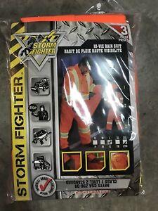 Storm Fighter Hi-Viz Rain Suit Size 2XL