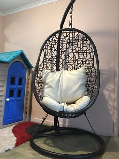 Outdoor Swing Hanging Wicker Rattan Egg Chair