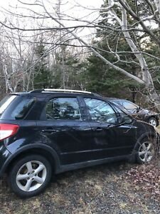 2007 Suzuki SX4 all wheel drive great in the snow