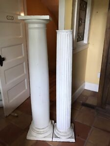 Decorative Wooden and Cast Iron Columns