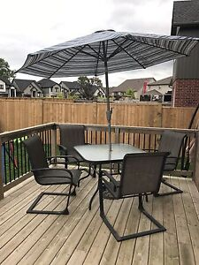 6pc Patio Set in GUC