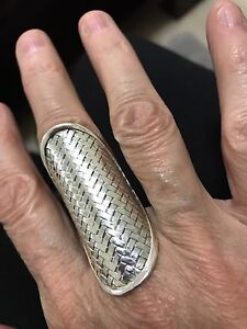 Genuine Silver Balanese Adjustable Ring Carlingford The Hills District Preview