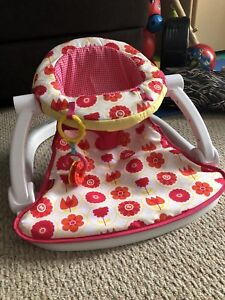 Sit me up chair  & Moby wrap