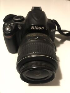 Nikon D3000 DSLR camera bundle