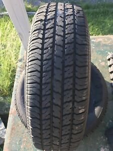 Two 195/70/14 tires
