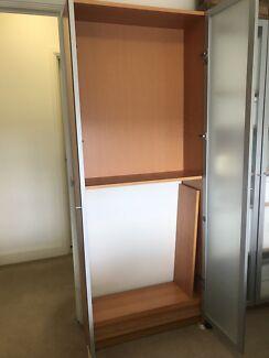 Free Ikea billy shelving unit