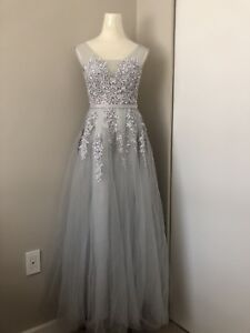 Grey Occasions Dress