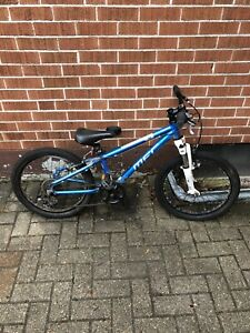 5 speed front suspension kids mountain bike
