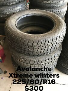 Avalanche x-treme winters 225/60/R16