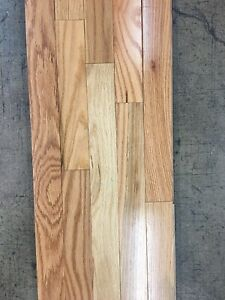 Red Oak 2 1/4 Prefinished Natural Hardwood