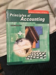 Wanted: Gr 12 Principles of Accounting textbook
