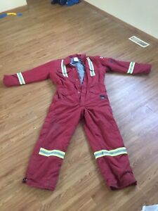 2XL Insulated coveralls