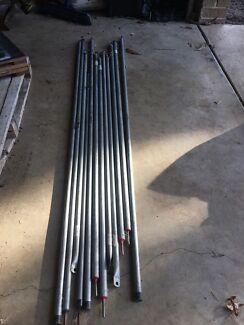 Wanted: 12 camping poles for annex extension.
