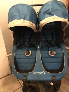 Baby Jogger City Mini GT Double Stroller - mint condition!