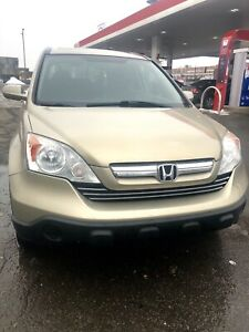 2007 HONDA CRV AWD EXL LEATHER EXCELLENT CONDITION FOR SALE NEGO