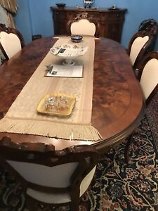 Dining room table plus chairs