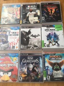 PS3 & PS4 games 5$ each