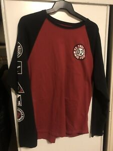 Mens True Religion 3 Quarter Sleeve Size Large